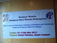 """Seminar Wanita KPPK """" Hari Wanita Sedunia """""""
