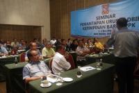 Seminar Pemantapan Urus Tadbir Kepimpinan Baru KPPK